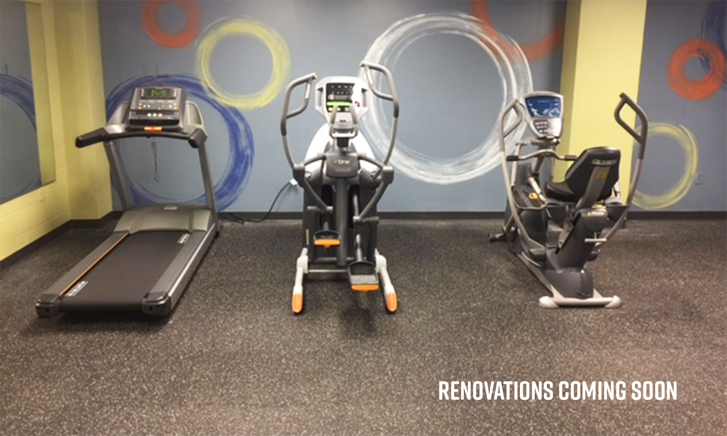 GV Fitness Center Renovations Coming Soon